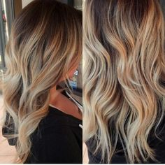 The perfect blonde color