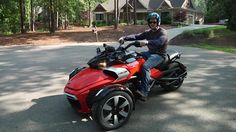 The Can-Am Spyder isn't so popular among traditional motorcyclists, but with more than 100,000 sold, it has its own fans. And now BRP has added a cruiser to the line.