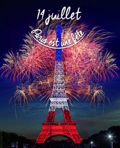 Paris est une Fête! — Paris je t'aime.