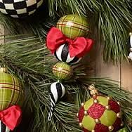 mackenzie childs christmas decorations - Google Search