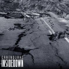 "Inside Down ""Earthquake"" (Single). Artwork by Kenji"