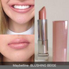 lip colors for black women Maybelline Lipstick, Lipgloss, Nude Lipstick, Lipstick Colors, Best Drugstore Lipstick, Maybelline Blushed Nudes, Lipsticks, Makeup Dupes, Skin Makeup