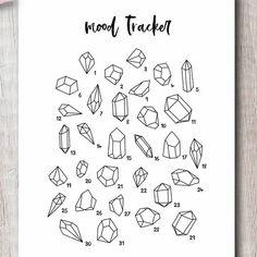 August 2019 Printable Bullet Journal Setup - The Petite Planner Tracker Mood, Bullet Journal Mood Tracker Ideas, Bullet Journal Notebook, Bullet Journal Themes, Bullet Journal Inspiration, Journal Pages, Bullet Journal Doodles Ideas, Journals, Life Journal