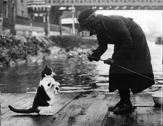 William Vanderson Fishing, 1937
