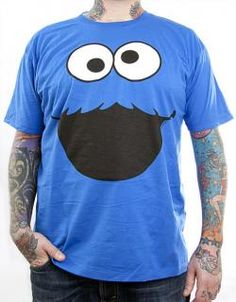 Sesame Street, T-Shirt, Cookie Monster