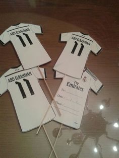 Real madrid invitation cards