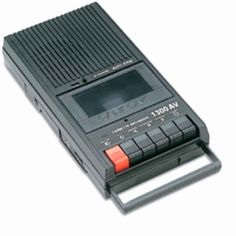 Cassette player. Who remembers these from growing up in the 70's?  Lol. My sister & I loooooved taiping things off the radio or from each other...sounded awful! The weekly countdown show was irresistible though! Heehee