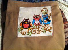 Owls Triplets Tote Bag. $2.99, via Etsy.  love it