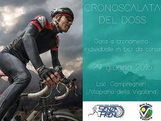 L'inedita #cronoscalatadeldoss in @visitvalsugana saprà regalare emozioni e adrenalina agli amanti del #ciclismo