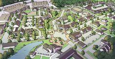 Plan Pinardville by Zanetta Illustration, via Behance