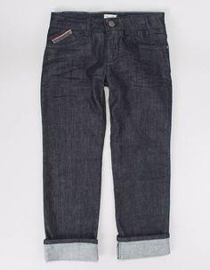 Armani Junior Indigo Pocket Trim Jeans | Accent Clothing