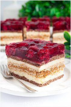 Ciasto balladyna na herbatnikach - I Love Bake Tiramisu, Cheesecake, Dessert Recipes, Food And Drink, Baking, Ethnic Recipes, Cook, Diet, Biscuits