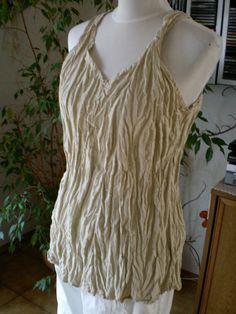 Cocon Commerz PRIVATSACHEN,Top/Tunika,Gr.2,ca.M/L,neu,Lagenlook #nachhaltig seit 1984 #seide #leinen #linen #silk #handgefärbt  #shibori #hand-dyed
