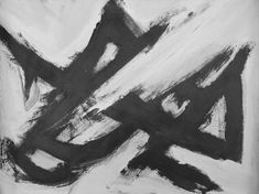 Original Abstract Expressionism black and white abstract Abstract Expressionism, Original Paintings, White Artwork, Abstract Expressionism Art, Black And White Abstract, Painting, Art, Abstract, Abstract Expressionism Painting