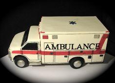 emt cakes | Ambulance Cake