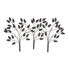 The Charlton Home Desford Leaf Wall Decor is a beautiful and chic wall hanging that makes for an excellent addition to your home decor. Its serene ambienc...