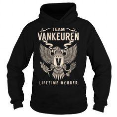 Team VANKEUREN Lifetime Member - Last Name, Surname T-Shirt - #gift for guys #gift for friends. Team VANKEUREN Lifetime Member - Last Name, Surname T-Shirt, bestfriend gift,shirt prints. BEST BUY =>...