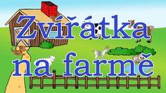 🐐🇨🇿 Zvířátka na farmě - animované zvuky zvířat pro děti a nejmenší - zvuky zvířat žijících na farmě Education, Youtube, Onderwijs, Learning, Youtubers, Youtube Movies