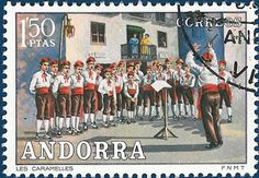 We stay this week in Andorra , but this time we look at the Spanish postage stamps. Andorra , officially the Principality of Andorra, ...