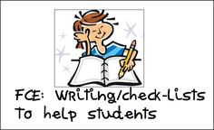 FCE Writing – Informal Letter/ Email Checklists – Learn with Stella