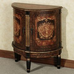 Tiburon Demilune Cabinet: devastation of richness and beauty and elegance...wow