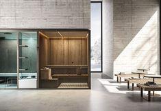 BodyLove, una Spa personale con sauna e hammam Bio Sauna, Canadian Hemlock, Steam Bath, Chromotherapy, Steam Generator, Sauna Room, Back Painting, Front Entrances, Elle Decor