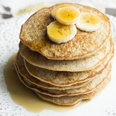 Quinoa Banana Pancakes are the perfect mixture of good taste and a highly nutritious breakfast. Quinoa makes the perfect pancake consistency and the bananas bring a perfectly light flavor to the dish.