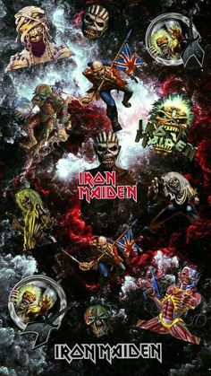 Trooper Powerslave Head Car Window Sticker Iron Maiden /'Killer Eddie/' v04