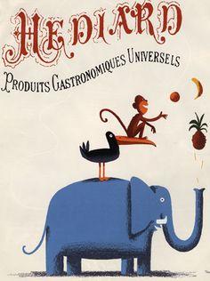 illustration de Thomas Baas pour le magazine du Lafayette Gourmet Fantaisie 2004