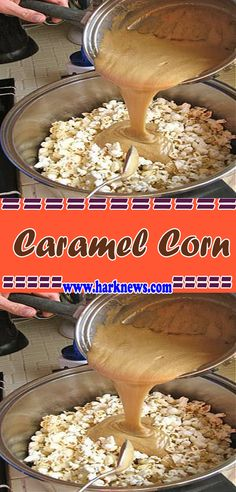 Popcorn Recipes, Snack Recipes, Dessert Recipes, Cooking Recipes, Dump Cake Recipes, Yummy Recipes, Delicious Desserts, Yummy Food, Pastries