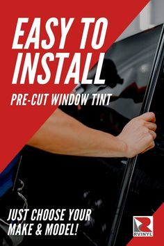 Applying A Diy Darker Tint To Your Car Windows Is The Easiest Most Effective Way To Protect Your Car S Interior From Harmful Tinted Windows Tints How To Apply