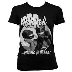 Batman Arrrgh - Wrong Number Koszulka Damska