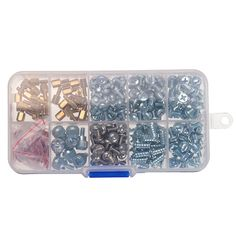 318pcs Computer Screws Kits for Motherboard PC Case Optical Drive Hard Disk Laptop Fixing