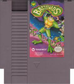 Battle Toads NES Nintendo Game