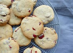 Lancashire Food: Cranberry and citrus cookies and an 80th birthday ...
