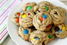 Peanut Butter MandM's Cookies