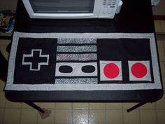 LOL Nintendo Art quilt xD