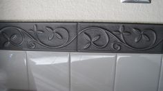 vine accent tile