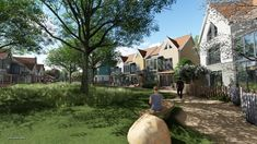 A new village orchard in Essex Mansions, Live, House Styles, Mansion Houses, Villas, Fancy Houses, Palaces, Mansion