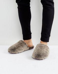 6b183d99eb28d4 Ted Baker Nnyah Furry Slip On Slippers - Gray My Christmas Wish List
