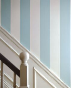 papier peint rayures Farrow and Ball Broad Stripe St1332 .