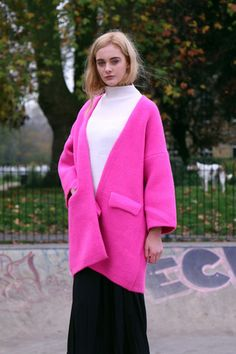 Limited Edition: Oversize Thick Knit Coat - THE WHITEPEPPER http://www.thewhitepepper.com/collections/cosy-winter-collection/products/limited-edition-oversize-thick-knit-coat