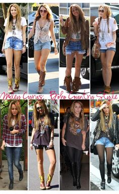 I loved Miley's boho style before she was crazy lol