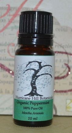 Organic Peppermint Essential Oil by HurricaneHill on Etsy, $6.95
