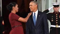 The Obamas Are the Most Adorable as They Officially Exit the White House -- See the Pics