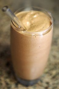 Chocolate Peanut Butter Milkshake (made with frozen bananas instead of ice cream).  And a bunch of other clean eating recipes!