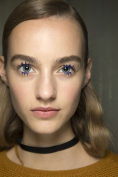 Mary Katrantzou Spring 2016 Ready-to-Wear Fashion Show Beauty