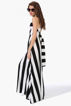 Stripe Changeable Maxi Dress | Shop for Stripe Changeable Maxi Dress Online