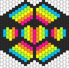 Kandi Patterns - Great resource for Perler :)