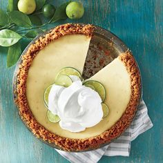 Foolproof Key Lime Pie | MyRecipes.com Whip up this Foolproof Key Lime Pie for an easy dessert your guests are sure to enjoy.